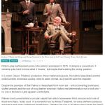 4 Star Review for No Man's Land coming to Cornerstone, Didcot
