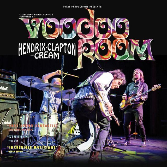 Voodoo Room: A Tribute to Hendrix, Clapton & Cream at Cornerstone, Didcot