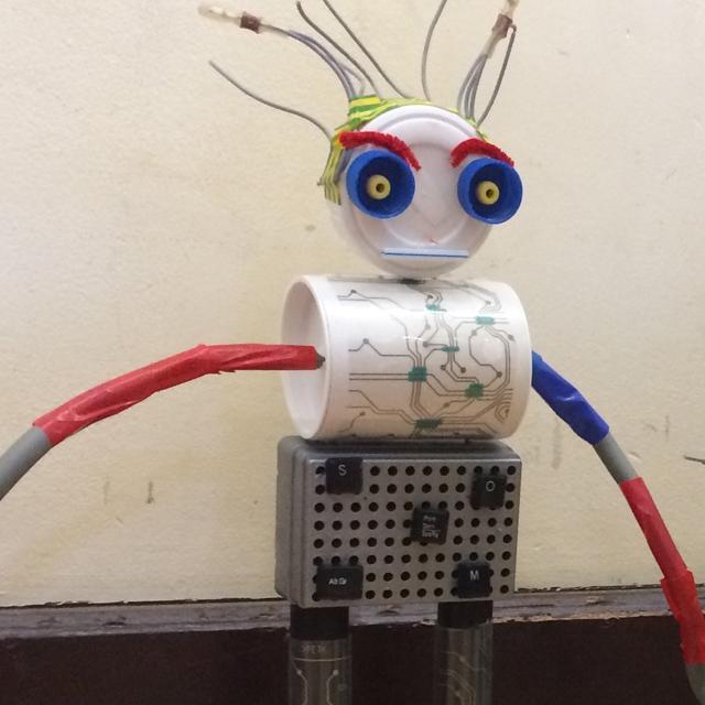 Robot Making Workshop at Cornerstone, Didcot