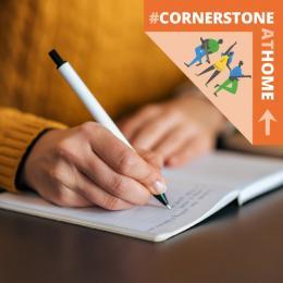 Cornerstone At Home Writers Club