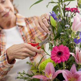 Flower Arranging Workshop at Cornerstone, Didcot