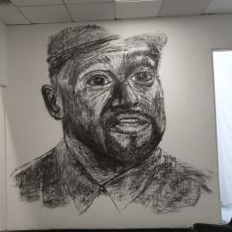 James Lester artwork at Cornerstone, Didcot
