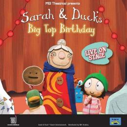 Sarah & Duck's Big Top Birthday at Cornerstone, Didcot