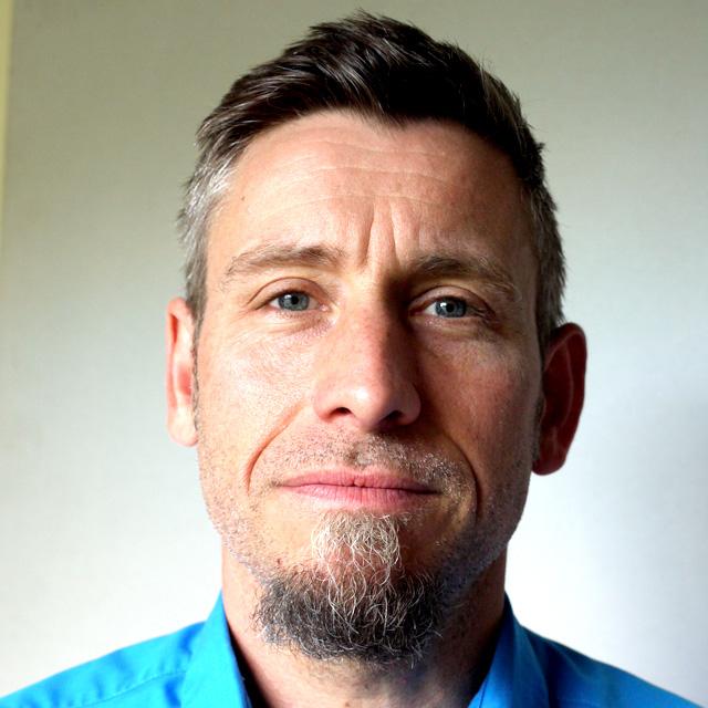 Colin Guilford, Life Drawing Tutor headshot