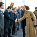 2009 - Princess Anne opens Cornerstone