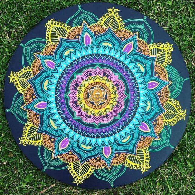 mandala workshop at Cornerstone