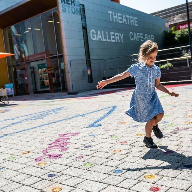 Playful Pavements at Cornerstone, Didcot