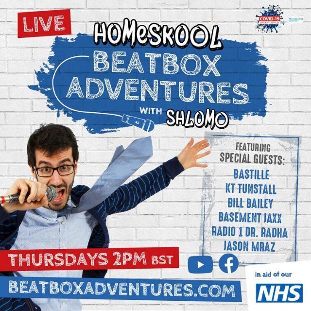 Shlomo's Homeskool Beatbox Adventures