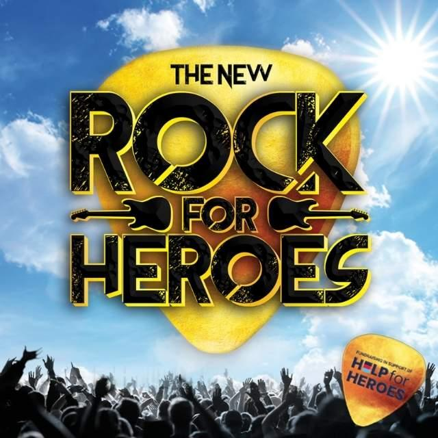 Rock for Heroes 2021 at Cornerstone Arts Centre Didcot
