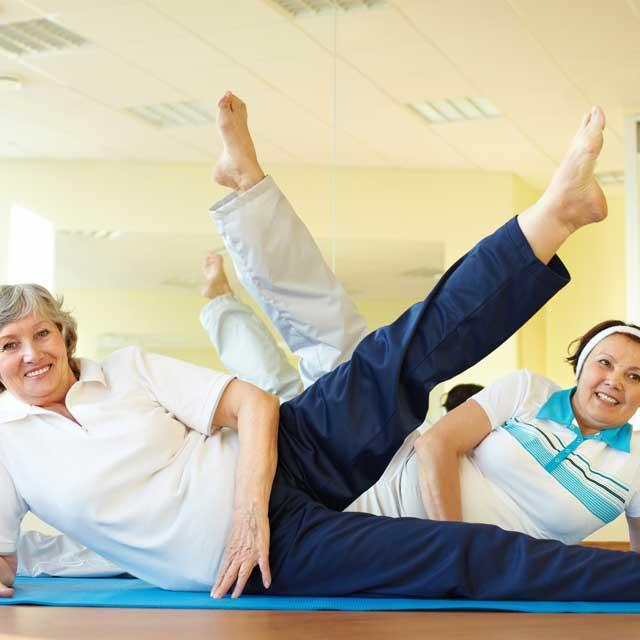 Pilates for the over 60's Autumn 2017