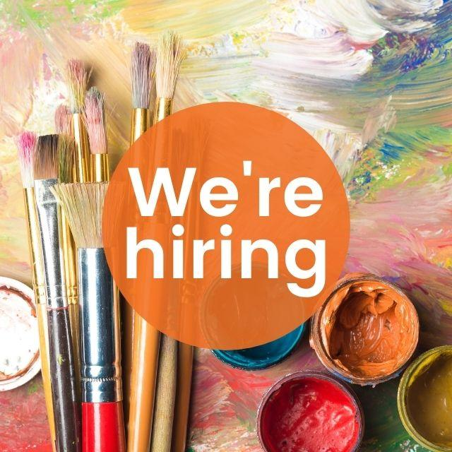 We're hiring a Painting Class Tutor at Cornerstone Arts Centre, Didcot