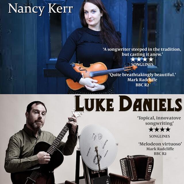 Luke Daniels and Nancy Kerr at Cornerstone