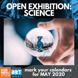 Cornerstone's Open Exhibition, Artweeks, May 2020