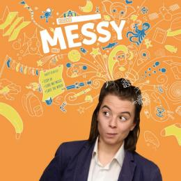 MESSY at Cornerstone, Didcot. BSL inclusive and fully accessible to d/Deaf and hearing audiences.