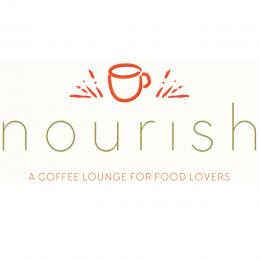 Nourish Coffee Shop Logo