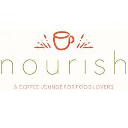 Nourish Coffee Shop Logo