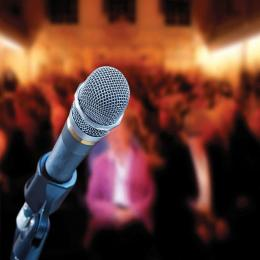 Image of open mic
