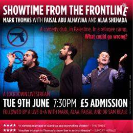 Mark Thomas: Showtime from the Frontline