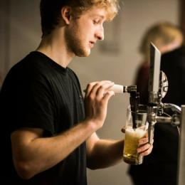 Bar staff at Nourish Didcot