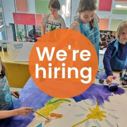 We're hiring a Children's Arts and Crafts Tutor at Cornerstone Arts Centre, Didcot