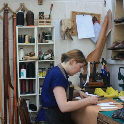 Leather workshops at Cornerstone, Didcot